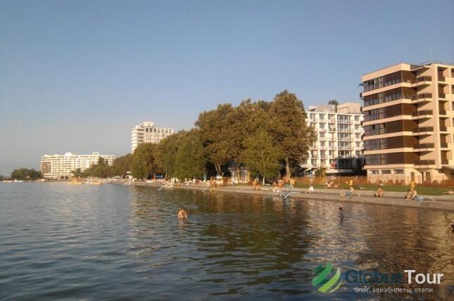 Шиофок - крупнейший город на озере Балатон