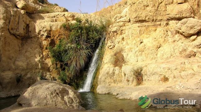 Водопады в заповеднике Эйн-Геди
