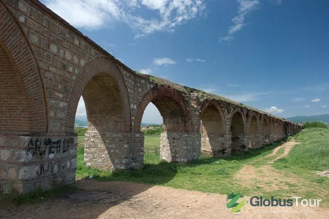 Римский акведук в Скопье