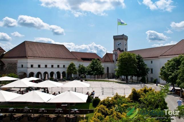 Городской замок в Любляне