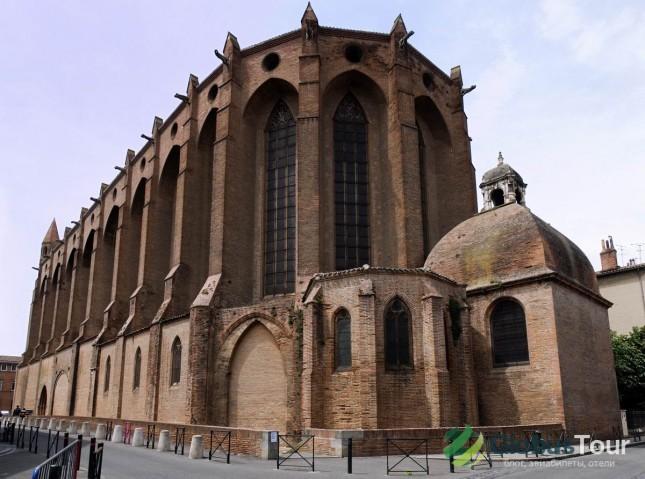 Церковь Якобинцев в Тулузе