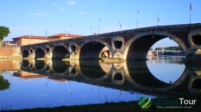 Новый мост в Тулузе