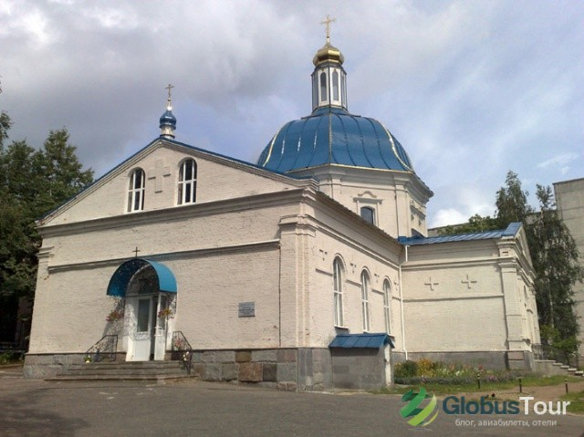 Свято-Казанская церковь Троицкого Маркова монастыря